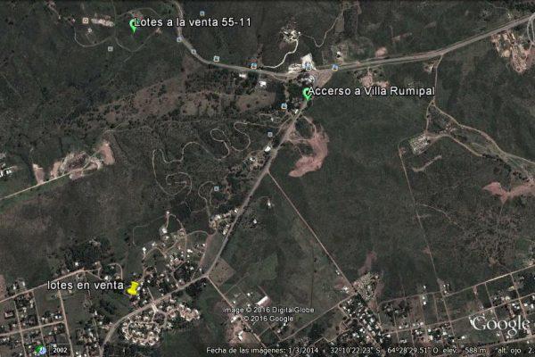 Venta de LOTES en Villa Rumipal